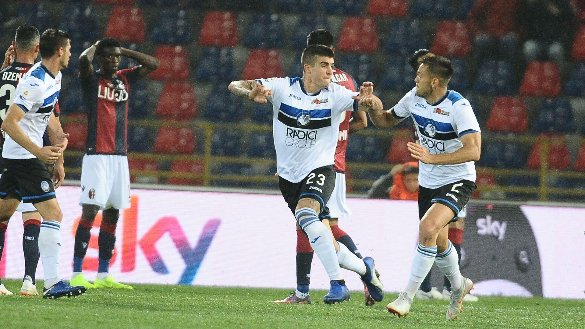 Gianluca Mancini Bologna Atalanta Serie A