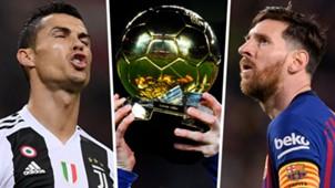Cristiano Ronaldo Ballon d'Or Lionel Messi