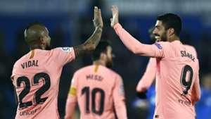 060119 Arturo Vidal Barcelona Luis Suárez Lionel Messi