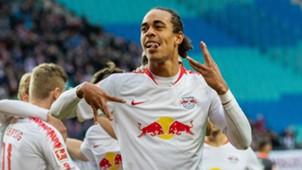 Yussuf Poulsen RB Leipzig Nürnberg 07102018