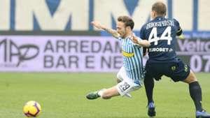 Pawel Jaroszynski Manuel Lazzari SPAL Chievo Serie A