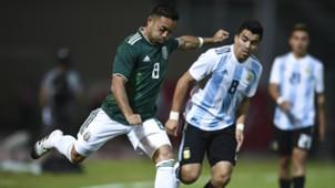 Fabian Acuña Argentina Mexico Amistoso Internacional Fecha FIFA 16112018