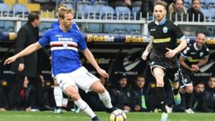 Ivan Strinic Manuel Lazzari Sampdoria SPAL Serie A