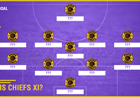 How Chiefs could line-up against Sundowns