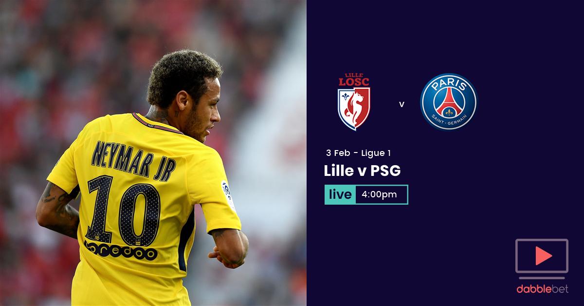 Lille PSG graphic