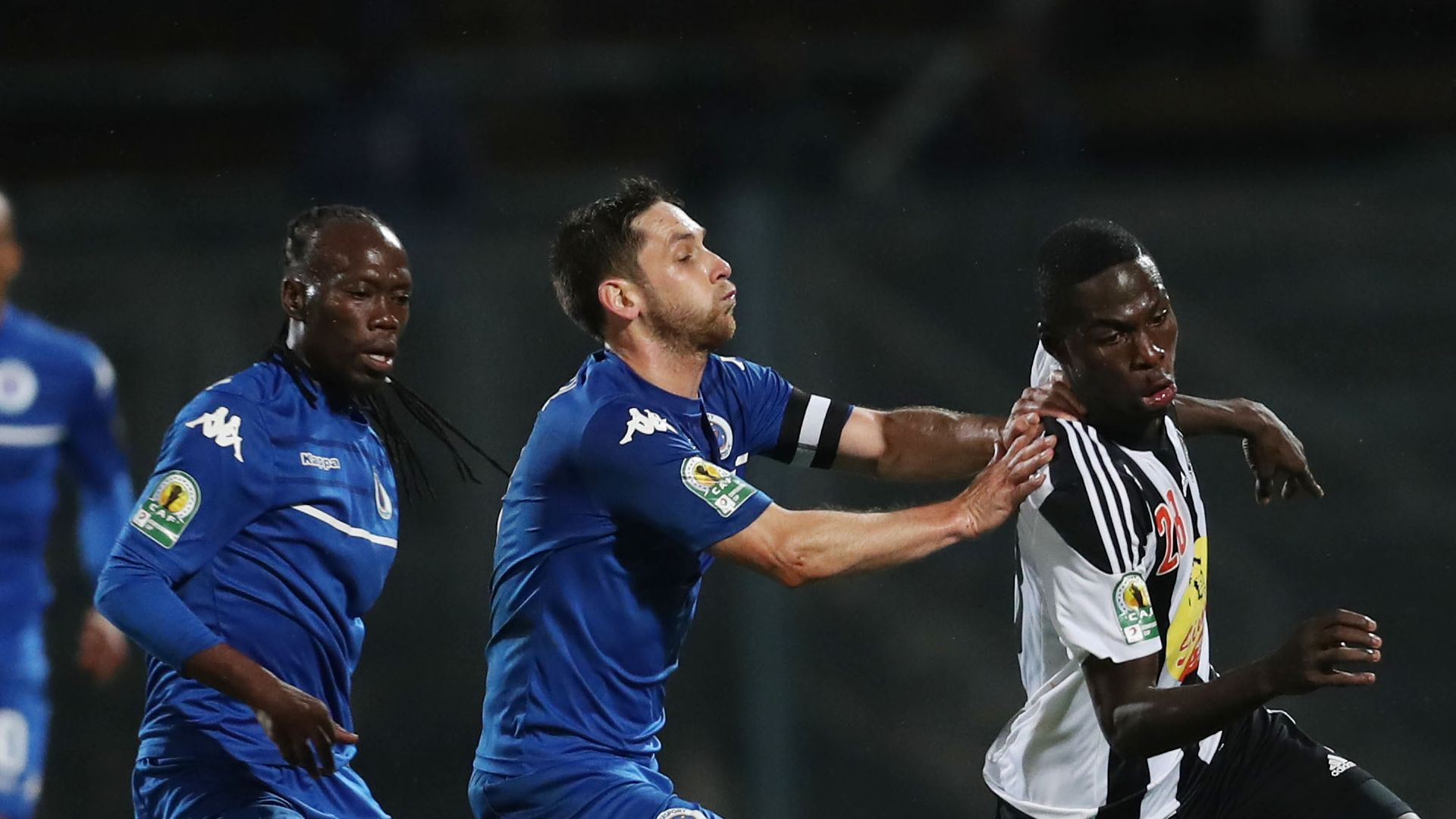 SuperSport United, Reneilwe Letsholonyane, Dean Furman & TP Mazembe, Ben Malango