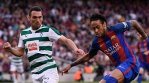 Anaitz Arbilla Neymar Barcelona Eibar LaLiga 21052017