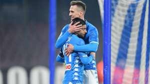Arek Milk Napoli Sassuolo Coppa Italia