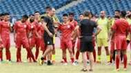 Igor Stimac Indian national team training