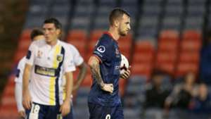 Roy O'Donovan penalty Newcastle Jets 2019