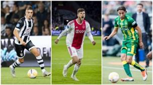 Collage Eredivisie Petterson, Huntelaar, El Khayati