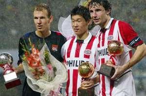 Ji-sung Park, Robben, Van Bommel