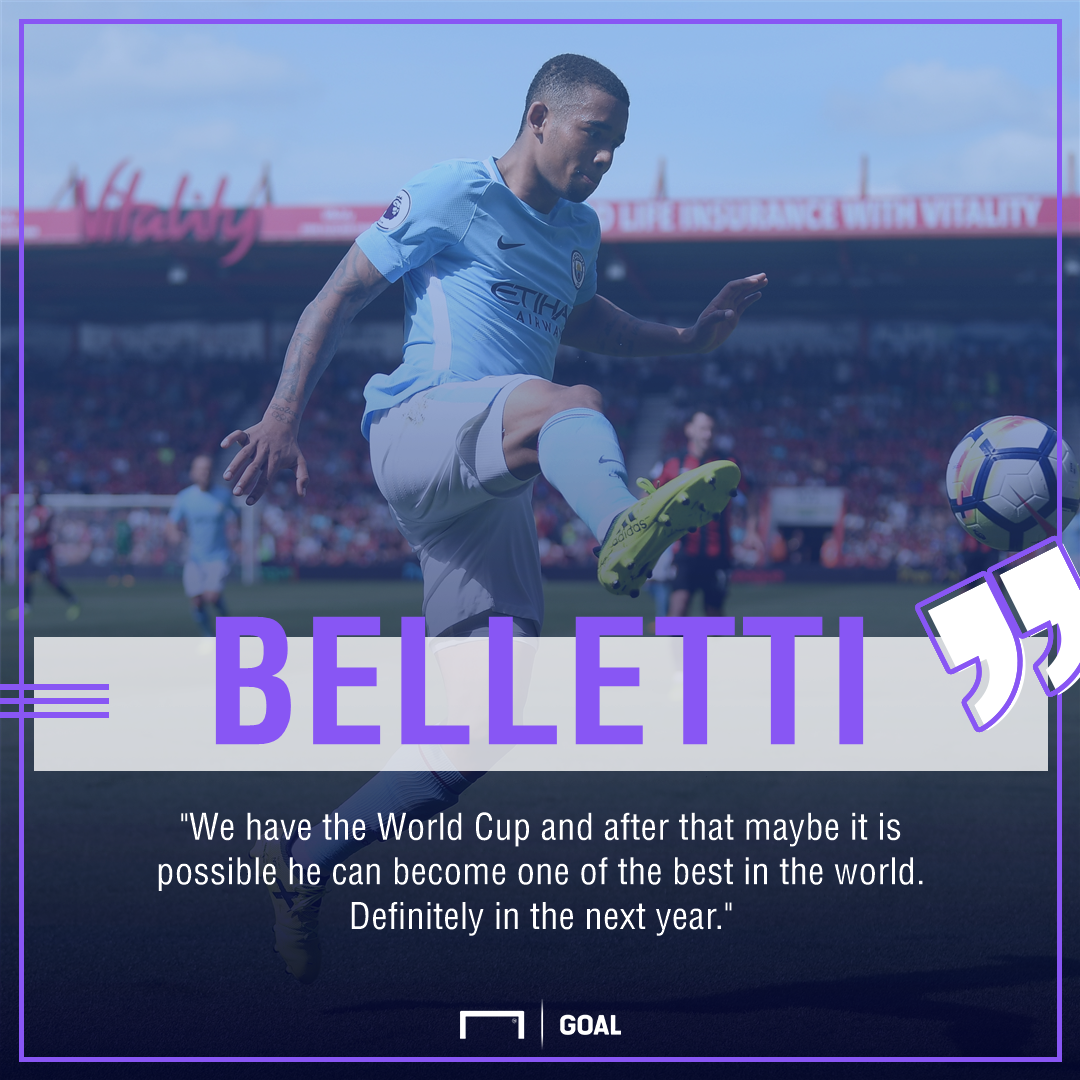 Juliano Belletti Gabriel Jesus Manchester City world's best