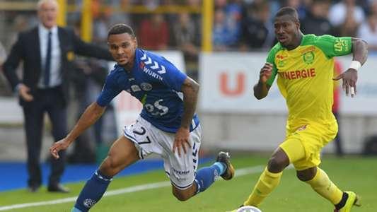 Kenny Lala Fernando Aristeguieta Strasbourg Nantes Ligue 1 24092017