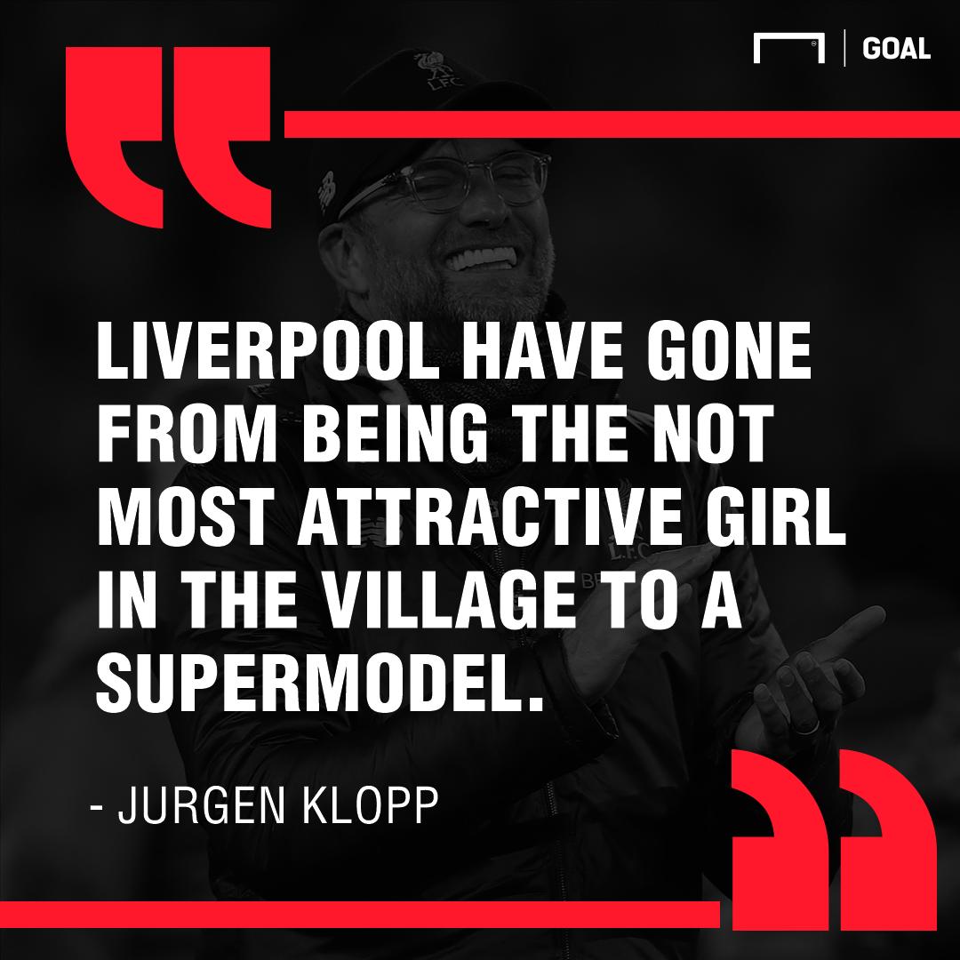 Jurgen Klopp Liverpool supermodel