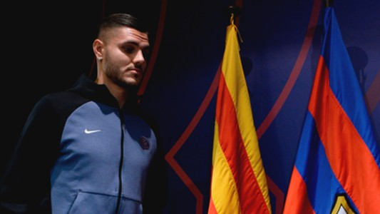Mauro Icardi Inter Barcelona