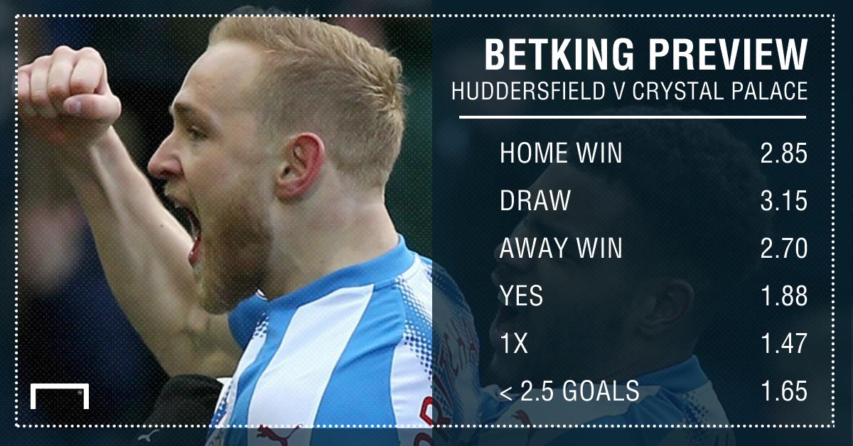 Huddersfield v Crystal Palace PS