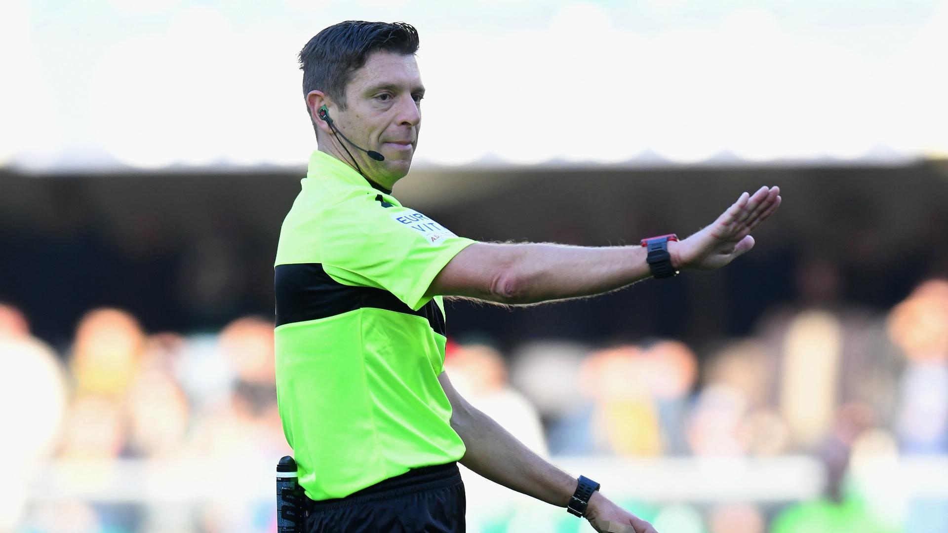 Juve-Atalanta di Coppa Italia: arbitra Fabbri