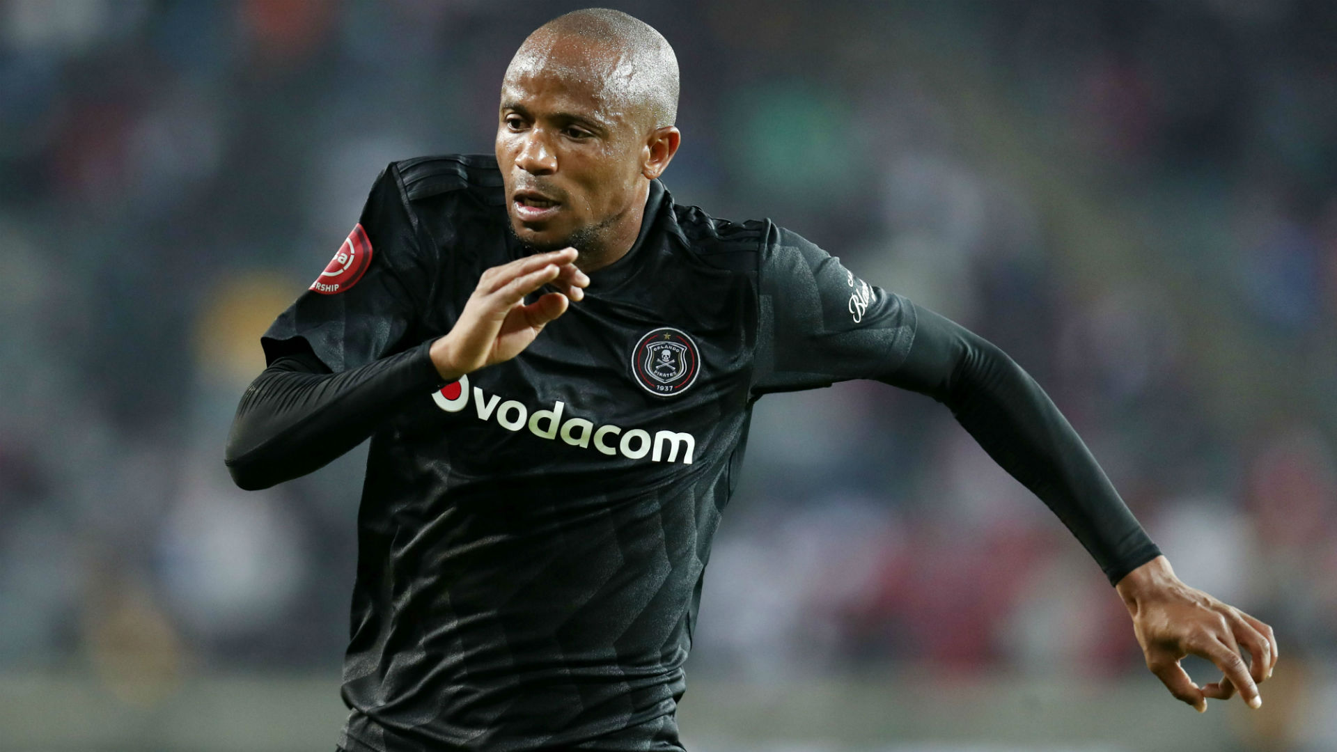 Xola Mlambo, Orlando Pirates, August 2018