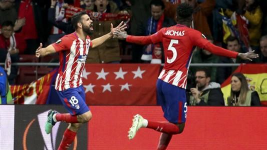 Diego Costa Atletico Madrid Arsenal Europa League