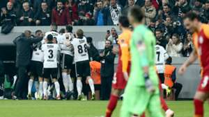 Besiktas goal celebration vs Galatasaray 12022018