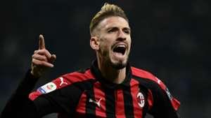 Samuel Castillejo AC Milan 2018-19