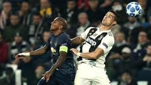 Cristiano Ronaldo Ashley Young Juventus Manchester United