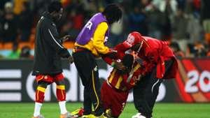 Asamoah Gyan Ghana WM 2010 02072010
