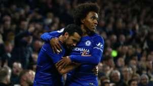 Willian Pedro Chelsea Premier League