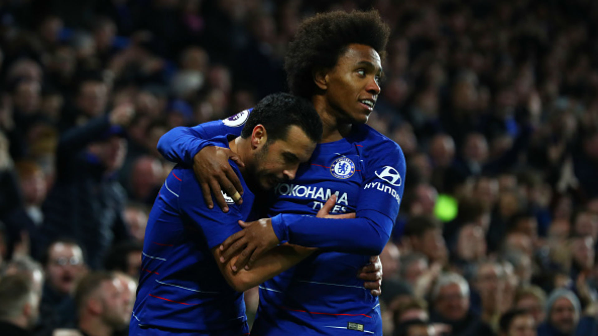 Willian Pedro Chelsea Premier League