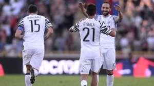 Paulo Dybala Gonzalo Higuain Bologna Juventus Serie A