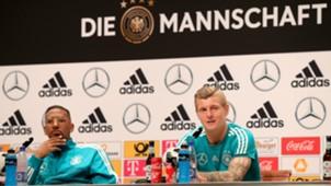Toni Kroos e Jerome Boateng - Alemanha - 14/06/2018