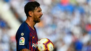 Lionel Messi Barcelona La Liga 2018