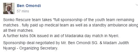 Ben Omondi on Sonko deal