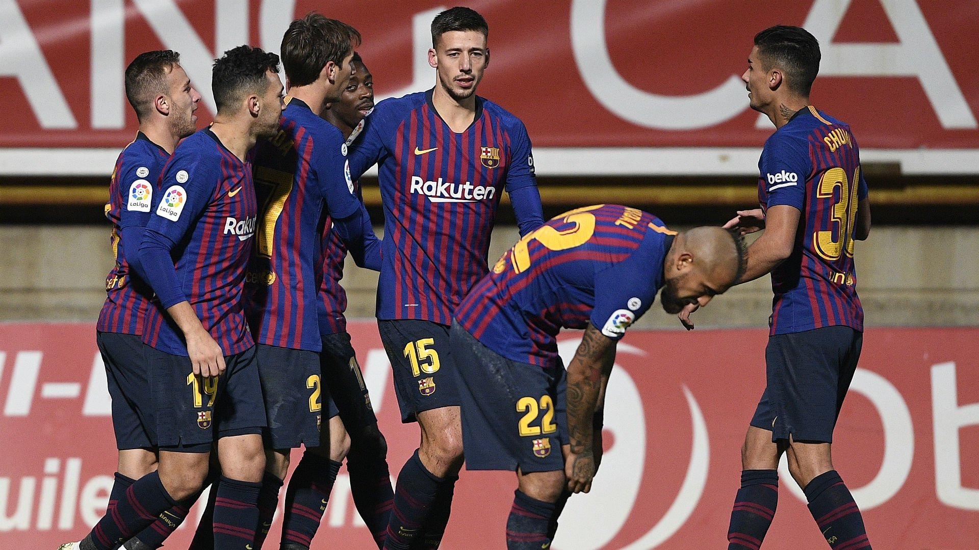Barcelona will be without Malcom for two weeks after ankle injury