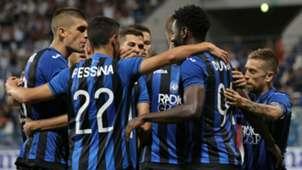 Atalanta celebrating Hapoel Haifa UEFA Europa League 08162018