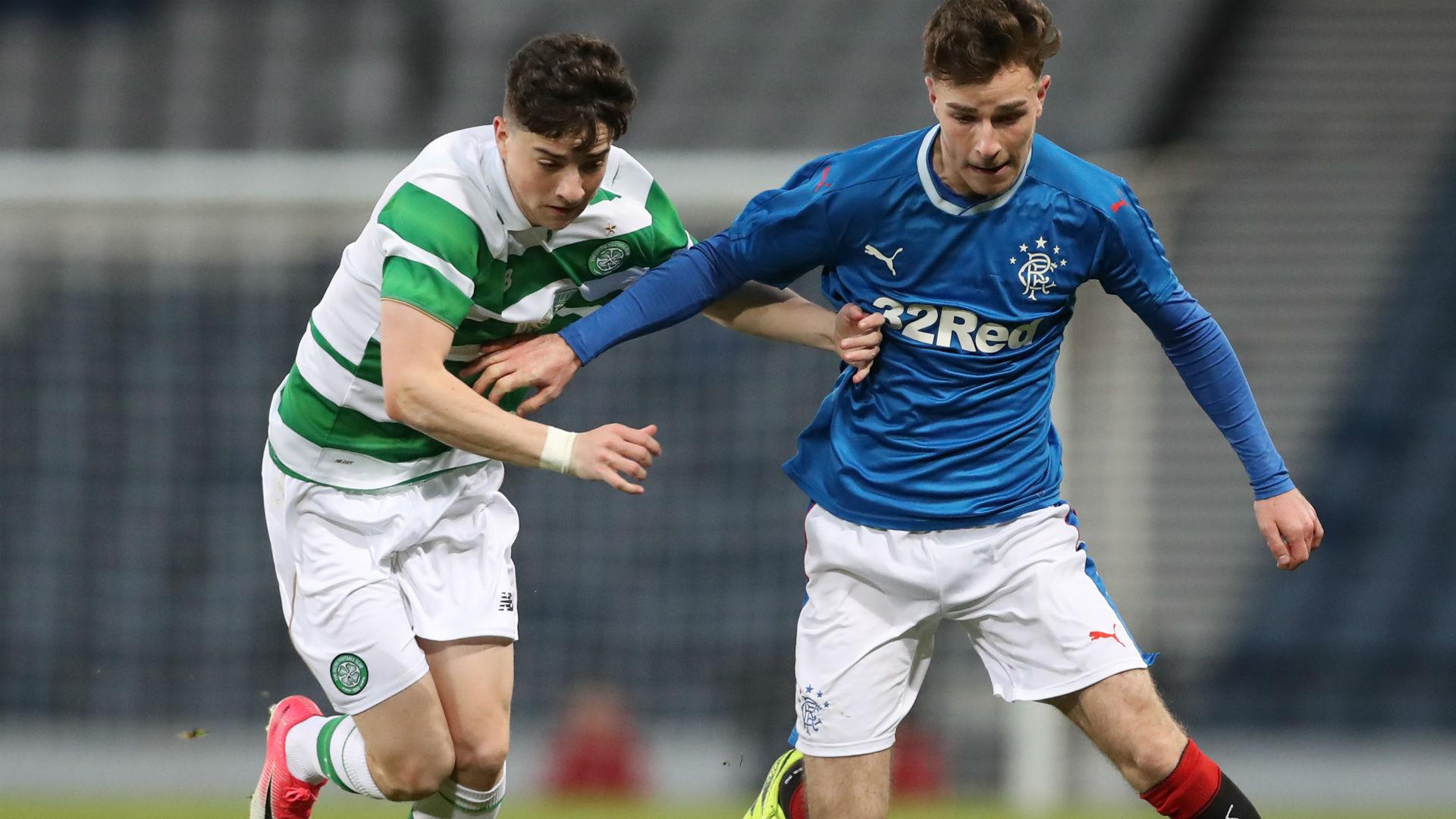 Michael Johnston Josh Jeffries Celtic Rangers