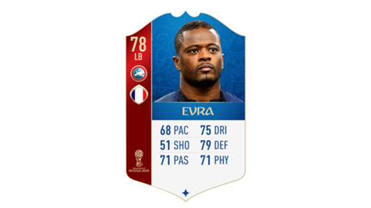 FIFA 18 World Cup France Evra