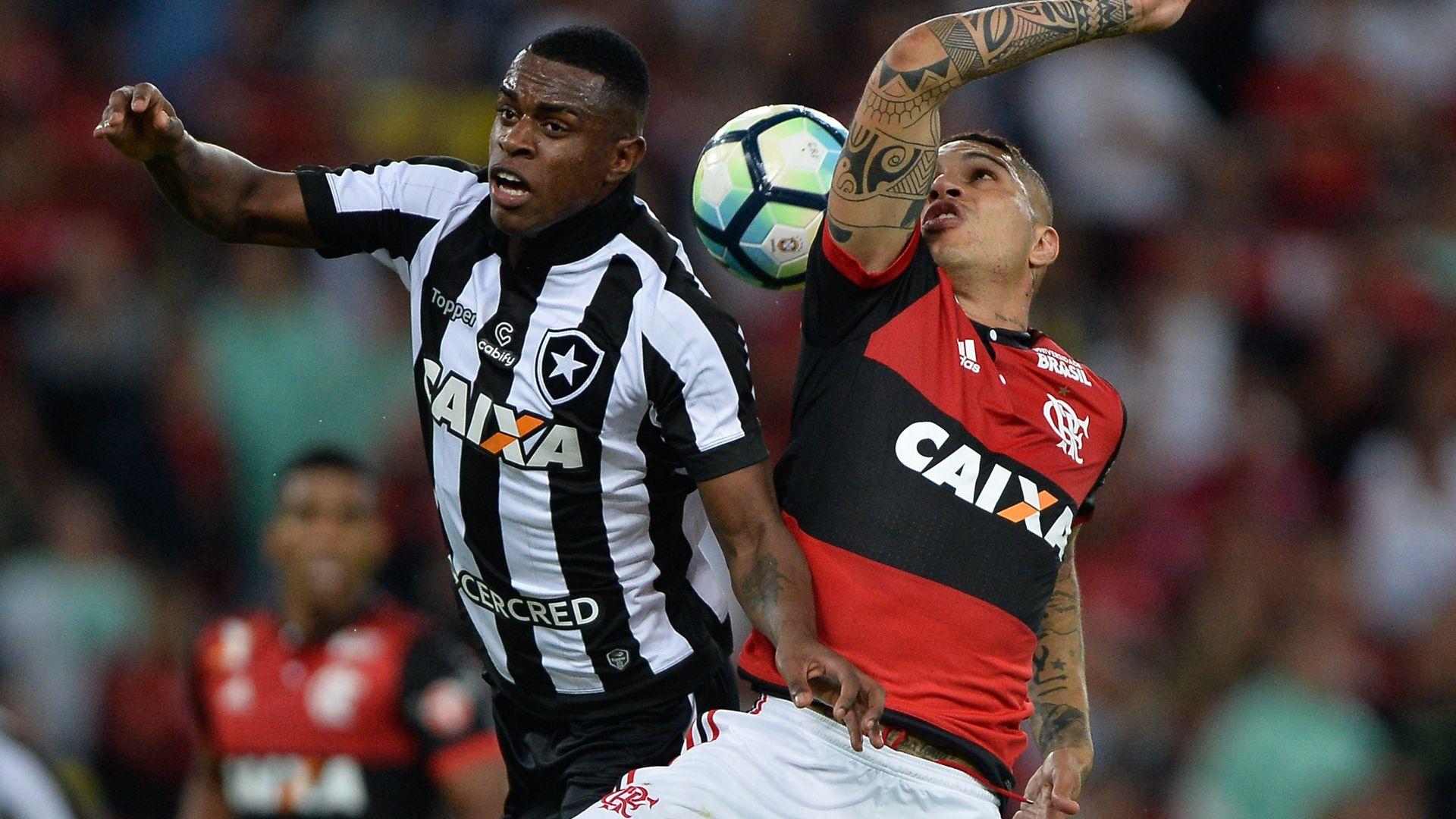 Marcelo Conceicao Paolo Guerrero Flamengo Botafogo Copa do Brasil 23082017