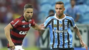 GFX Diego Flamengo Luan Gremio 2018