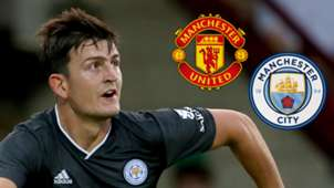 Harry Maguire Man Utd Man City