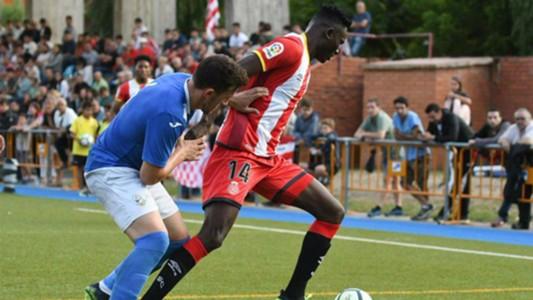 Michael Olunga of FC Girona.