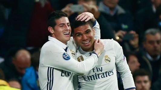 Casimiro James Rodriguez Real Madrid