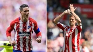 Fernando Torres/ Peter Crouch split