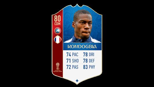 FIFA 18 World Cup France Kondogbia