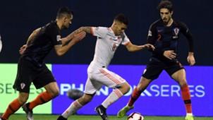 croatia spain - uefa nations league - lovren vrsaljko ceballos - 15112018