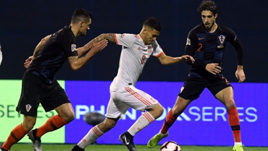croatia spain - uefa nations league - lovren vrsaljko ceballos - 15112018