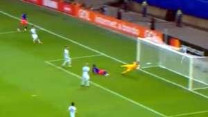 Captura gol Duvan Zapata Argentina Colombia