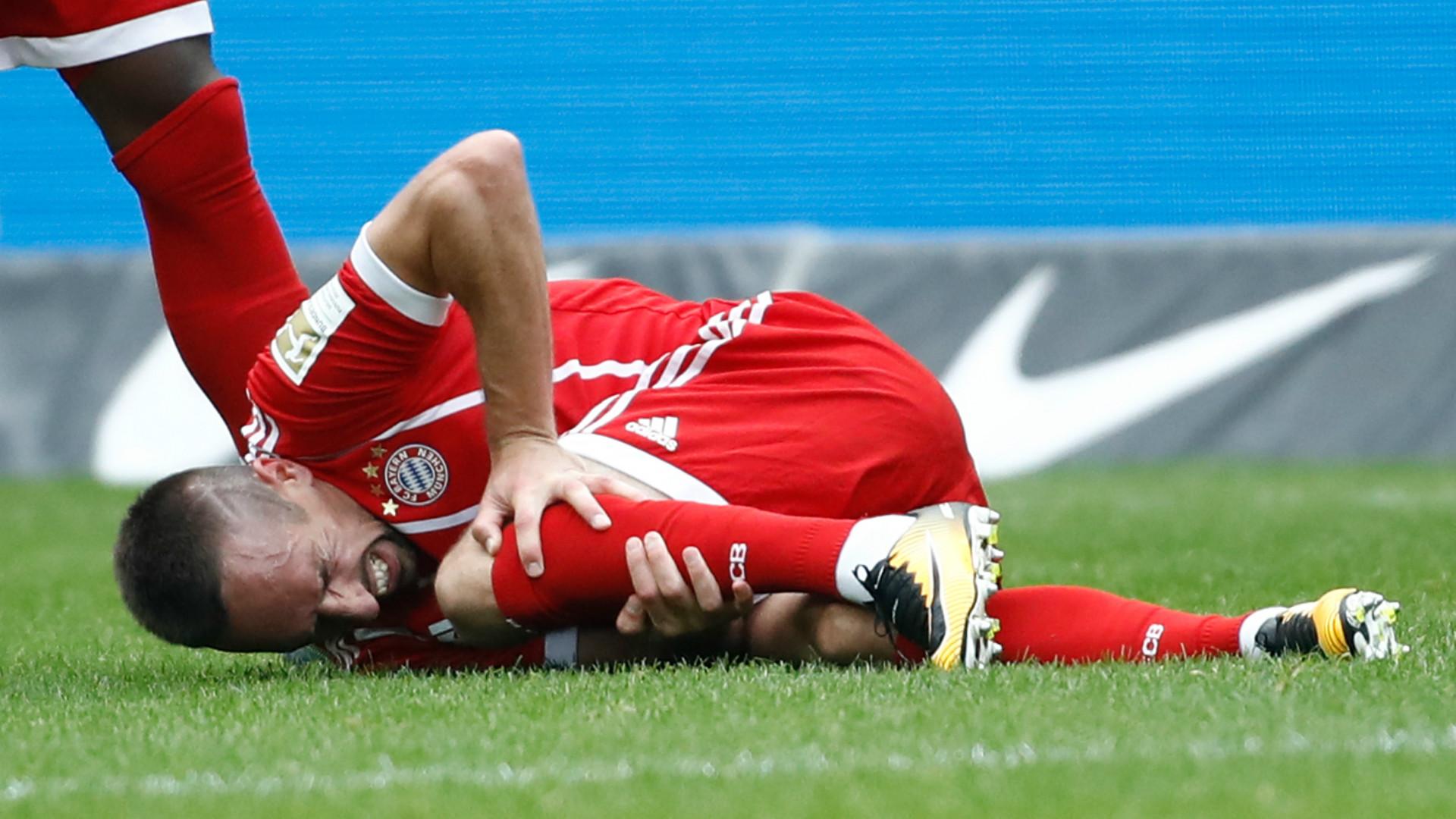 Bayern-Schock: Ribéry verletzt vom Platz