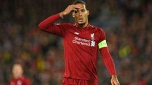 Virgil van Dijk Liverpool 10242018